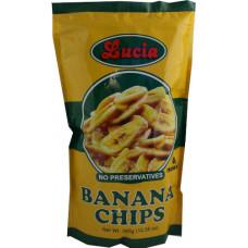 05.50701 - LUCIA BANANA CHIPS 36x350g