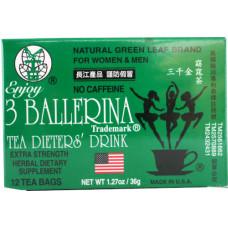 15.64500 - 3B TEA DIET DRINK 36x12x1.27oz