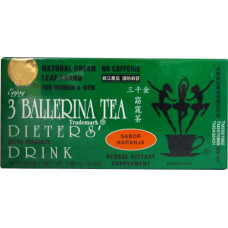 15.64512 - 3B DIET TEA (ORANGE) 36x18x1.8