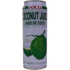20.30001 - FOCO COCONUT JUICE 24x17.6oz
