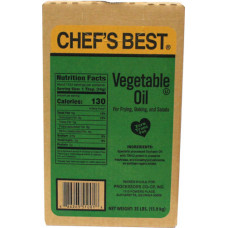 40.00500 - CHEF BEST VEGETABLE OIL 35lbs
