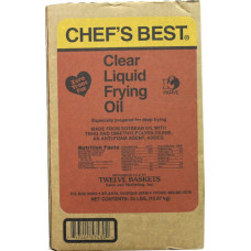 40.00503 - CHEF BEST CLEAR FRY OIL 35lbs