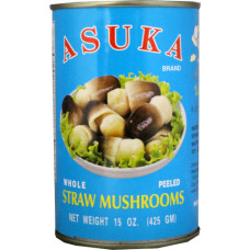45.20143 - ASUKA STRAW MUSHROOMS 24x15oz