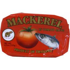 45.43100 - GE MACKEREL TOMATO 50x125g