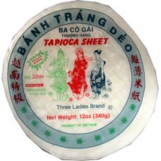 50.85012 - TL TAPIOCA SHEET 22cm 36x12oz