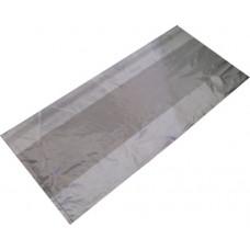 80.00935 - LDPE CLEAR BAG 8+4x18 R